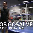 BOUT BUSINESS: TITOS GOSALVEZ and trainer Marv Reese fighting out of Joe Hand Gym in Philly